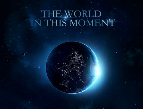 The world in this moment